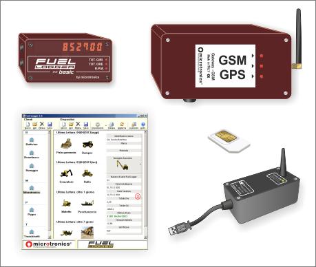 Fuellogger Gateway Telematico GPS