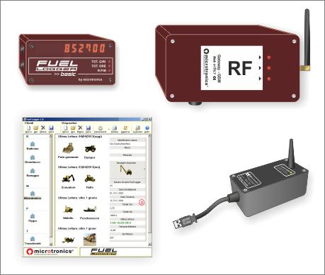 Fuellogger Gateway Telematico RF
